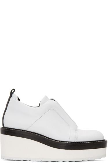 Pierre Hardy - White Mega Slider Sneakers