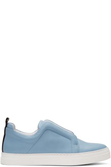 Pierre Hardy - Blue Slider Sneakers