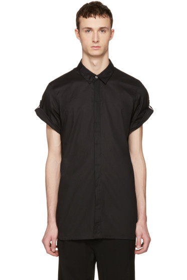 Ann Demeulemeester - Black Button Shirt