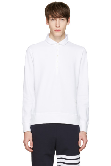 Thom Browne - White Collection Polo