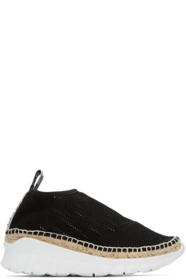 Kenzo - Black Scuba Platform Sneakers