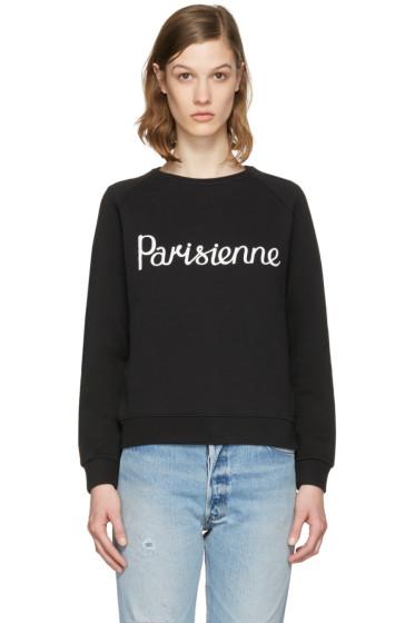 Maison Kitsuné - Black 'Parisienne' Pullover