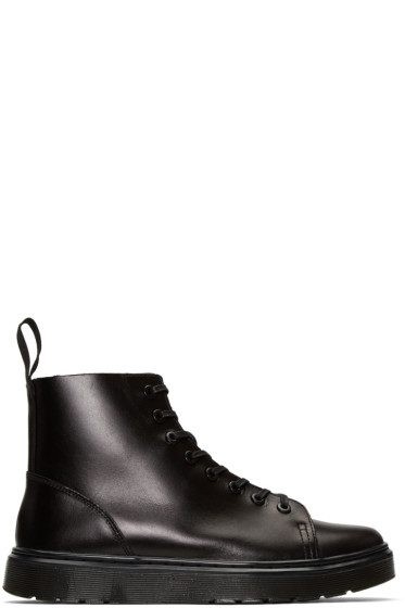 Dr. Martens - Black Talib High-Top Sneakers