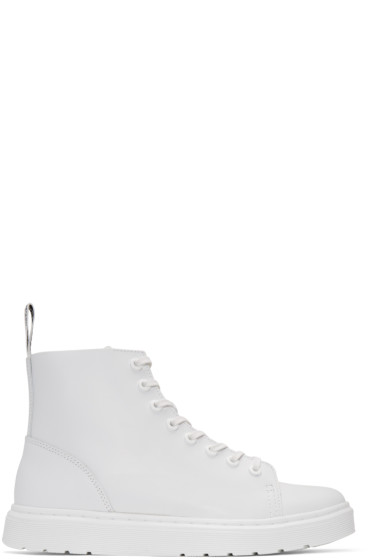 Dr. Martens - White Talib Boots