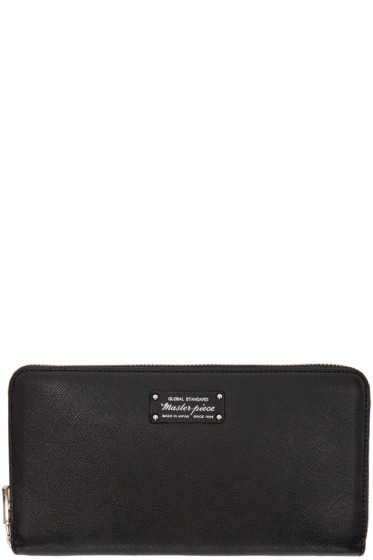 Master-Piece Co - Black Continental Wallet