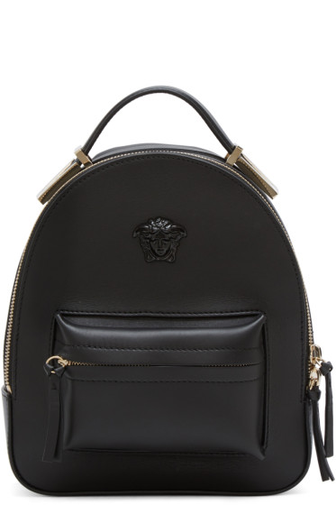 Versace - Black Mini Medusa Backpack