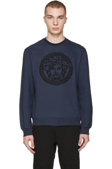 Versace - Navy Medusa Pullover