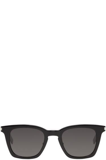 Saint Laurent - Black SL 138 Slim Sunglasses