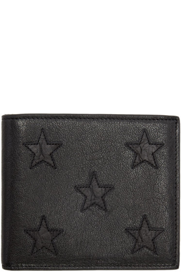 Saint Laurent - Black Stars East West Wallet
