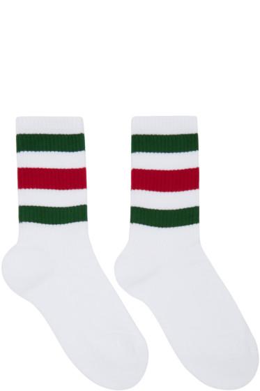 Gucci - White Little William Socks