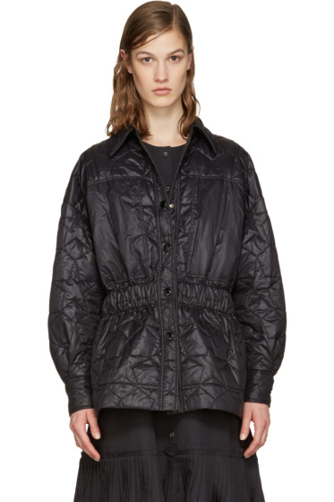 Stella McCartney - Black Quilted Star Jacket
