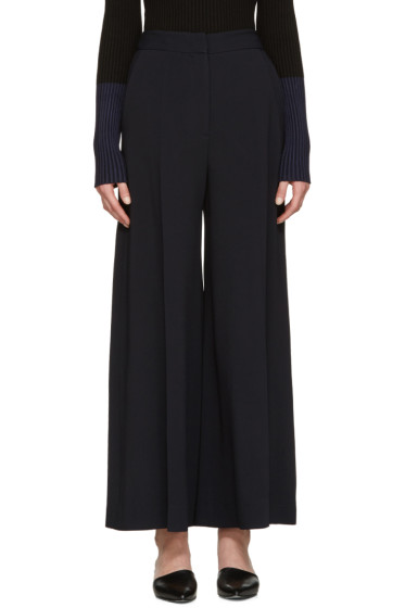 Stella McCartney - Navy Culotte Trousers
