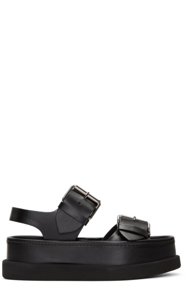 Stella McCartney - Black Buckles Sandals