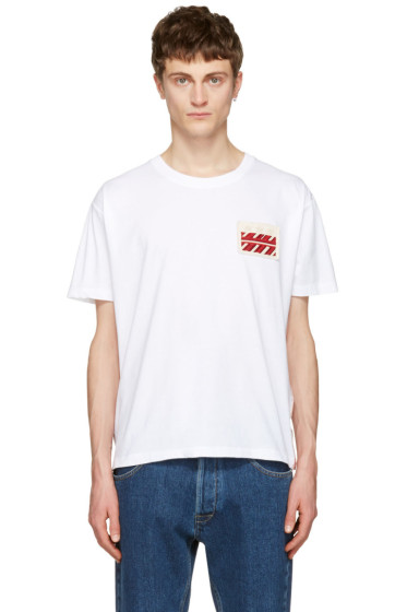 Valentino - White Star Patch T-Shirt