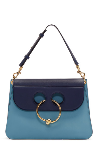 J.W.Anderson - Blue Medium Pierce Bag