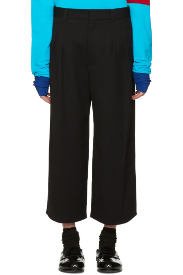 J.W.Anderson - Black Loose Fit Trousers