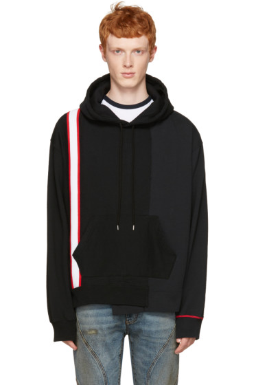 Facetasm - Black Stripe Band Hoodie