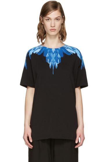 Marcelo Burlon County of Milan - SSENSE Exclusive Black Izar T-Shirt