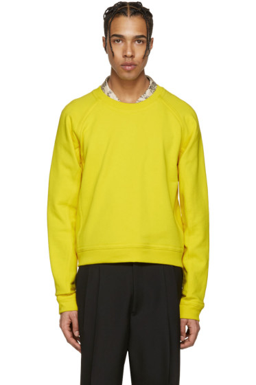 Haider Ackermann - Yellow Short Pullover