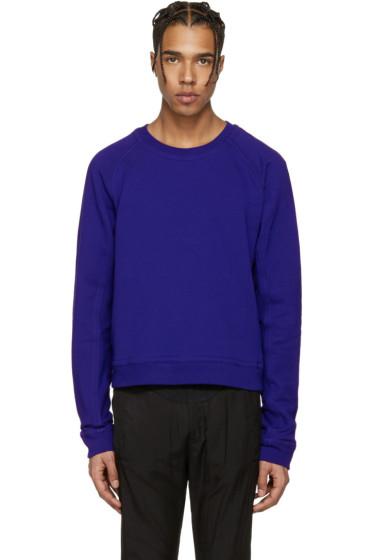 Haider Ackermann - Indigo Short Pullover