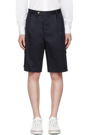 Moncler Gamme Bleu - Navy Cargo Shorts