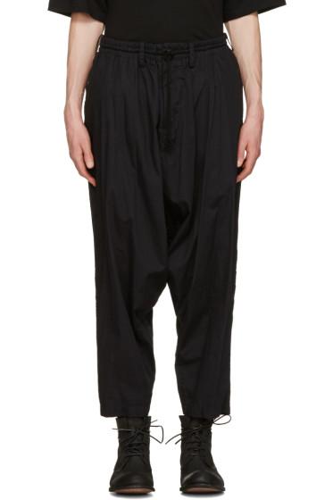 Yohji Yamamoto - Black Sarouel Trousers