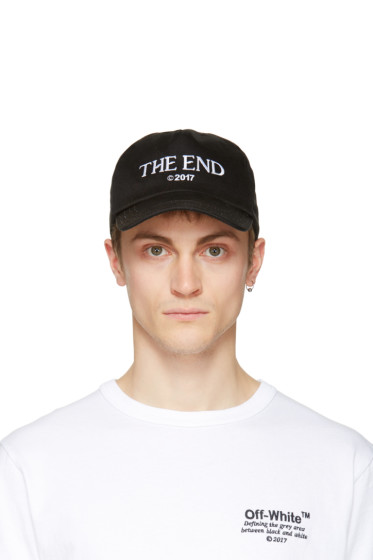 Off-White - Black 'The End' Cap