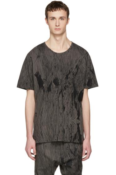 Nude:mm - Grey Printed T-Shirt