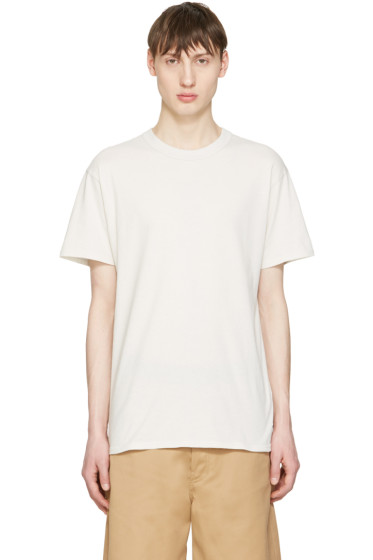 Undecorated Man - Grey Cotton T-Shirt
