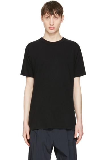 Undecorated Man - Black Cotton T-Shirt