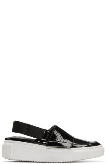 D by D - Black Open-Back Sneakers
