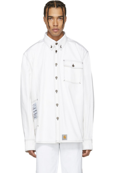 Vetements - White Carhartt Edition Workwear Shirt