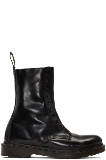 Vetements - Black Dr. Martens Edition 'Borderline' Boots