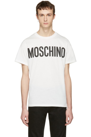 Moschino - White Logo T-Shirt