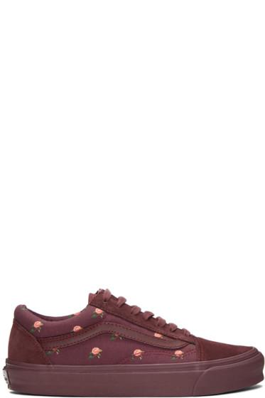 Vans - Purple Undercover Edition OG Old Skool LX Sneakers