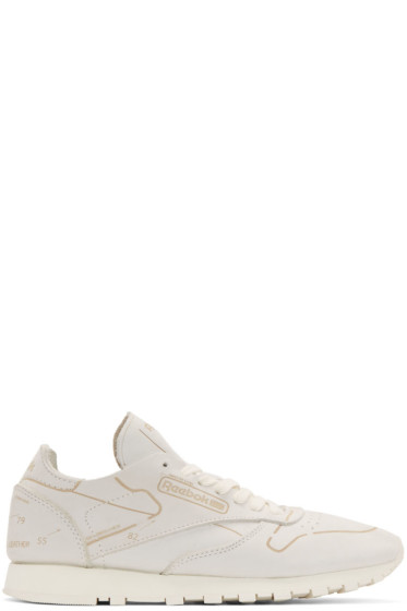 Reebok Classics - Off-White Leather CL HMG Sneakers