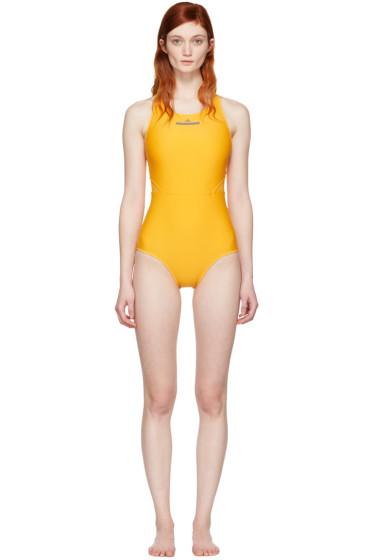adidas by Stella McCartney - Yellow Zip Swimsuit