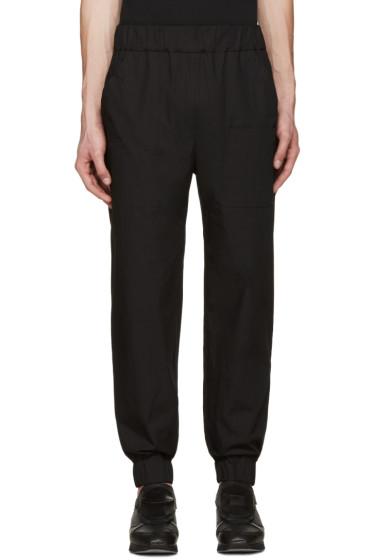 Phoebe English - Black Patch Pocket Lounge Pants