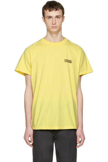 Noon Goons - Yellow 'Mad Society' T-Shirt