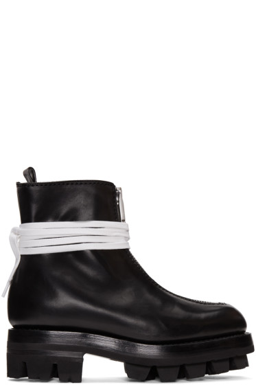 Alyx - Black Tank Ankle Boots