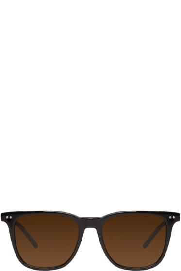 Bottega Veneta - Black Classic Square Sunglasses