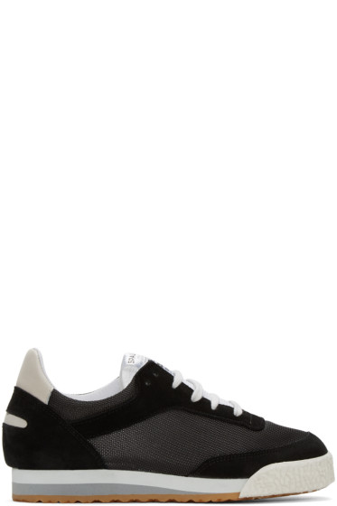 Spalwart - Black Pitch Sneakers