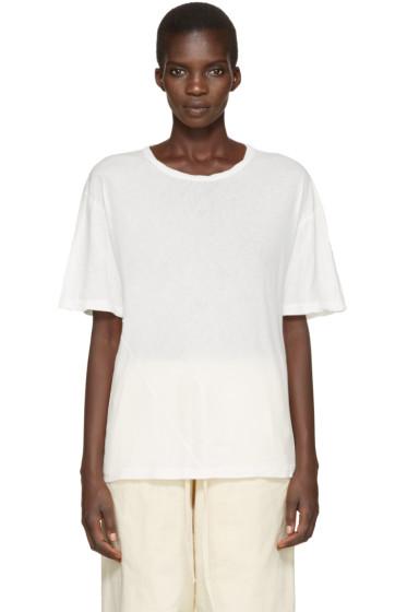 Lauren Manoogian - Ivory Vellum T-Shirt