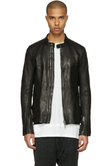 The Viridi-anne - Black Leather Jacket