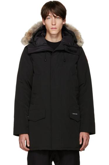 Canada Goose - Black Down & Fur Langford Parka
