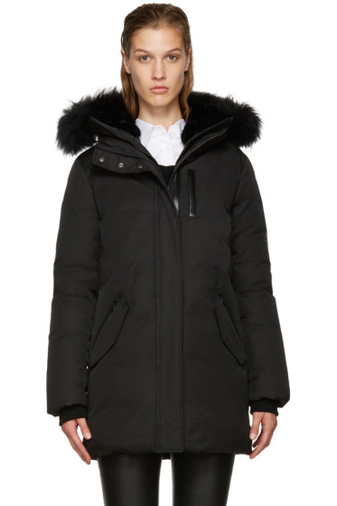 Mackage - SSENSE Exclusive Black Down Marla Coat