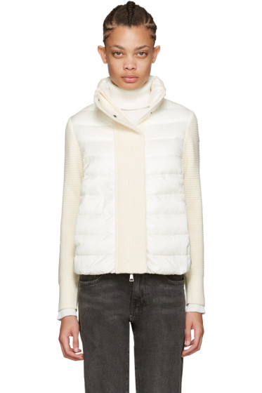 Moncler - Off-White Quilted Down Jacket