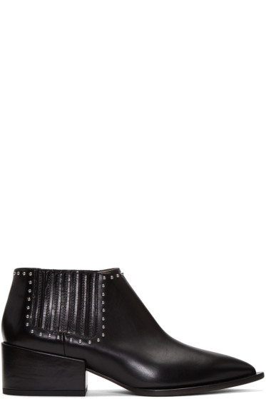 Givenchy - Black Studded Chelsea Boots