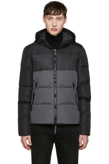 Duvetica - Black & Grey Cadel Down Jacket