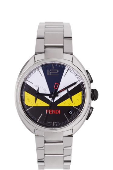 Fendi - Silver Momento Bugs Watch